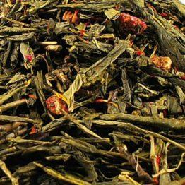 groene thee Aardbei